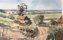 Blythburgh, original British watercolour painting