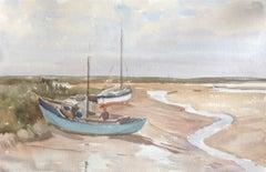 Brancaster Norfolk original British watercolour painting