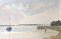 Mistley, Essex, original British watercolour painting