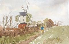Ramsey Mill, original British watercolour painting