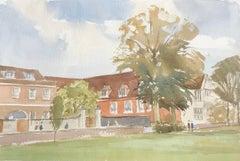 Salisbury, original British watercolour painting