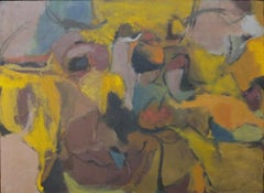 The Deserted Conjugal Bed of Aphrodite (abstract expressionist painting)