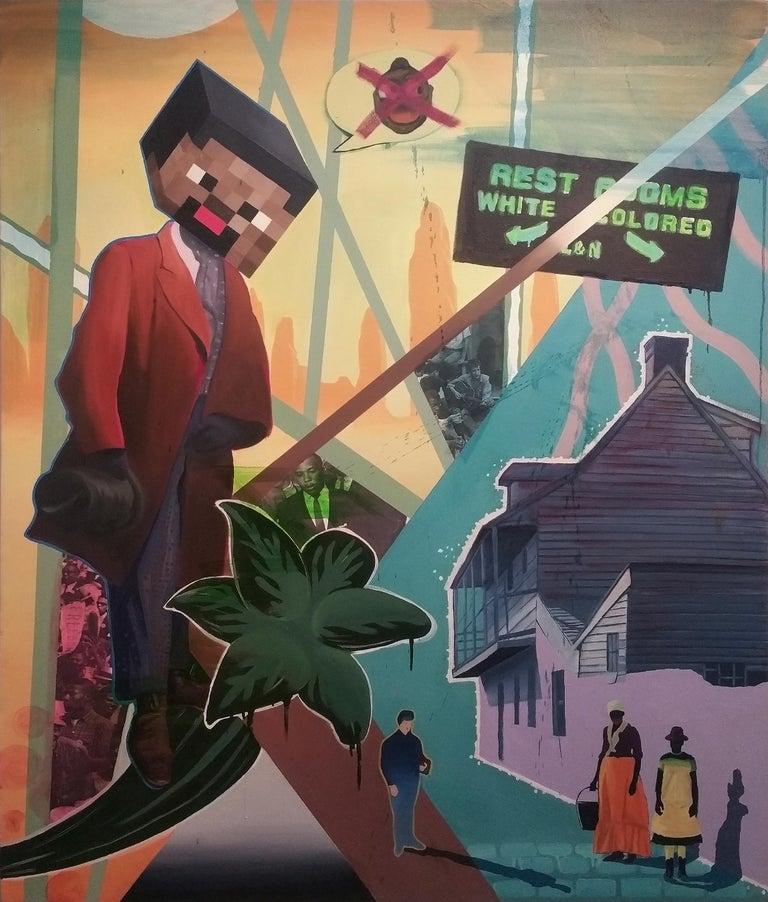 Freedom Walk - Mixed Media Art by Ronald Hall