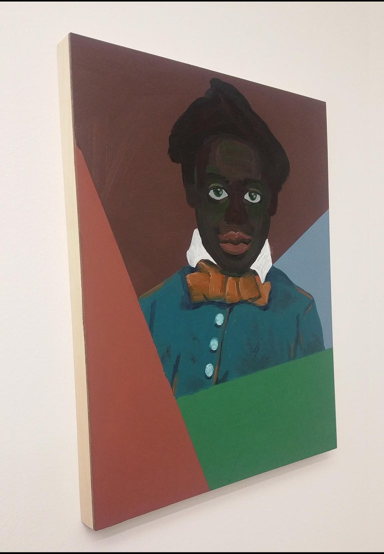 Untitled (Boy) - Painting by Ronald Hall
