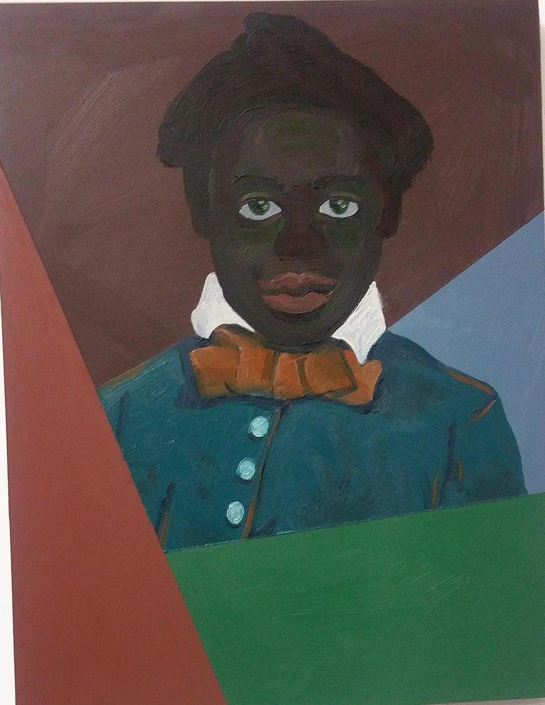 Ronald Hall Portrait Painting - Untitled (Boy)