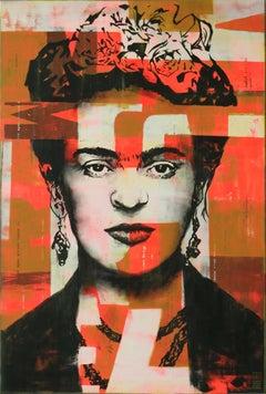 Frida Kahlo, Painting, Acrylic on Canvas