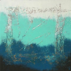 Oceanic Light Square XL, Painting, Acrylic on Canvas
