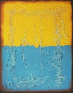 Once in Yellow XL, Painting, Acrylic on Canvas