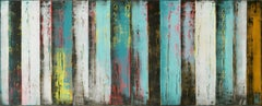 Original Panels Turquoise, Painting, Acrylic on Canvas