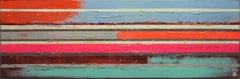 Slim Pop Art Lines, Painting, Acrylic on Canvas