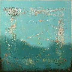 The Blue Lagoon, Painting, Acrylic on Canvas