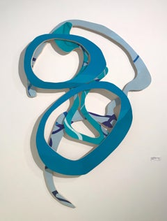 """""""Something to Tell You How"""", Contemporary, Mixed Media, Wall Sculpture, Wood"""