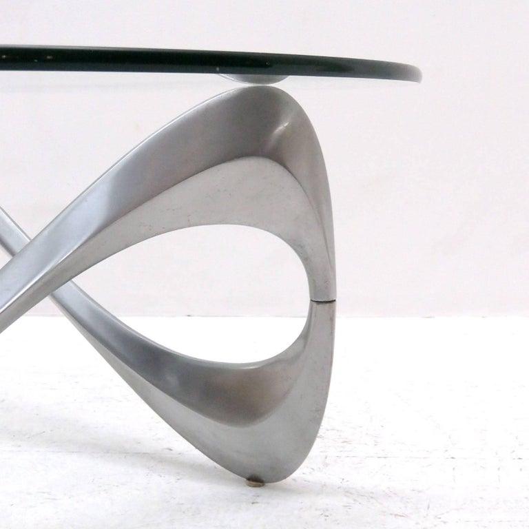 Aluminum Ronald Schmitt Coffee Table