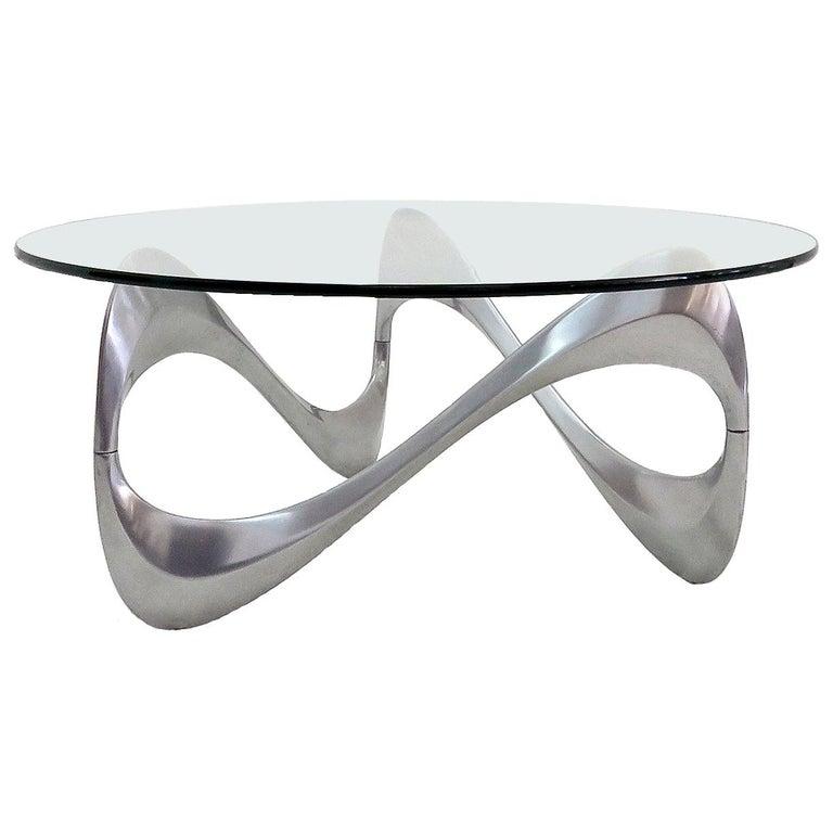 "Ronald Schmitt Coffee Table ""Schlangentisch"", 1965 For Sale"