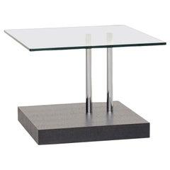 Ronald Schmitt Glass Coffee Table Side Table