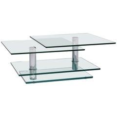 Ronald Schmitt K500 Glass Coffee Table Function