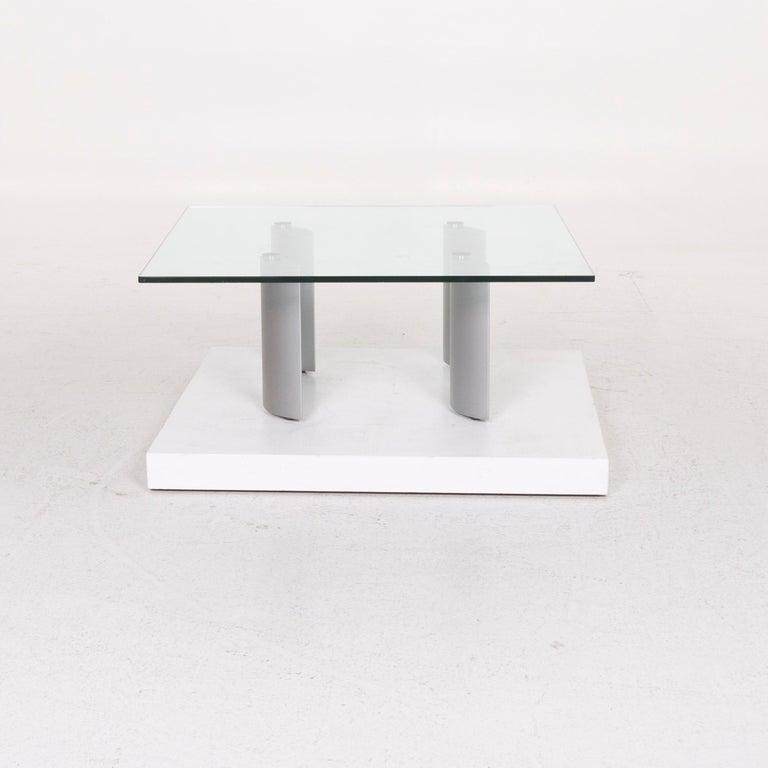 Ronald Schmitt Silver Glass Coffee Table 1