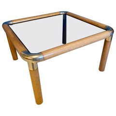 Ronald Schmitt Smoked Glass Coffee Table