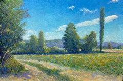 Dordogne (France)- 21st Century Contemporary Impressionistic Landscape Painting
