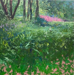 Fireweed- 21st Century Contemporary Impressionistic Dutch Landscape Painting