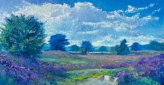 Sunny Day - 21st Century Contemporary Impressionistic Dutch Landscape Painting