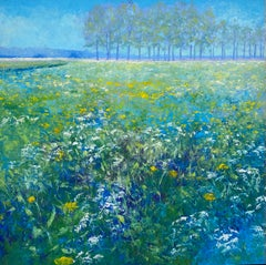 The Fields- 21st Century Contemporary Impressionistic Dutch Landscape Painting
