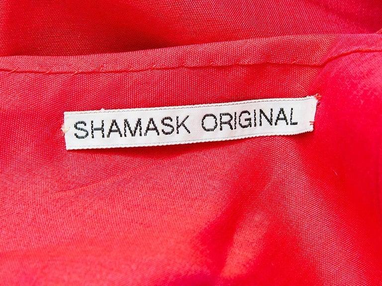 Women's Ronaldus Shamask One Shoulder Dress For Sale