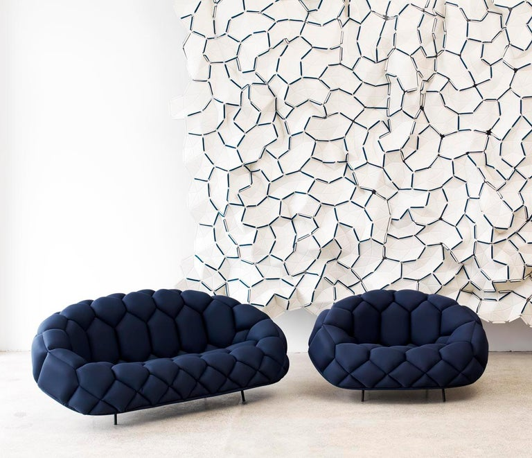 Ronan & Erwan Bouroullec Quilt Armchair for Established & Sons For Sale 8