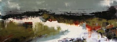 Gray Light, Abstract Oil Painting