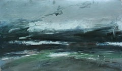 Texture of a Storm, Abstract Oil Painting