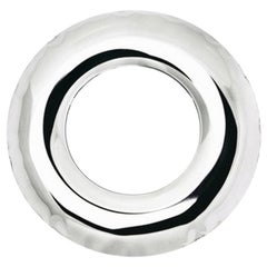 Rondel 36 Mirror in Polished Stainless Steel by Zieta