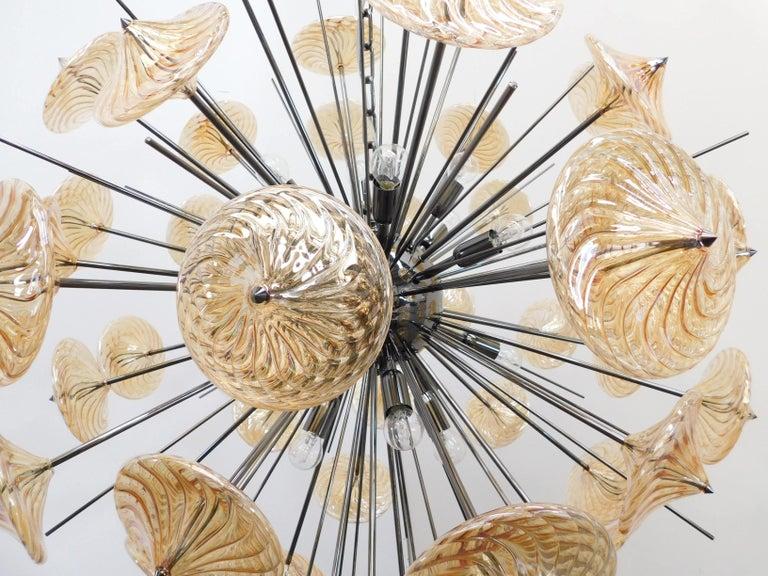 Italian Rondella Sputnik Chandelier by Fabio Ltd For Sale