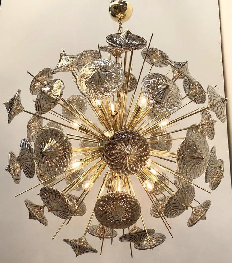Italian Rondella Sputnik Chandelier by Fabio Ltd For Sale