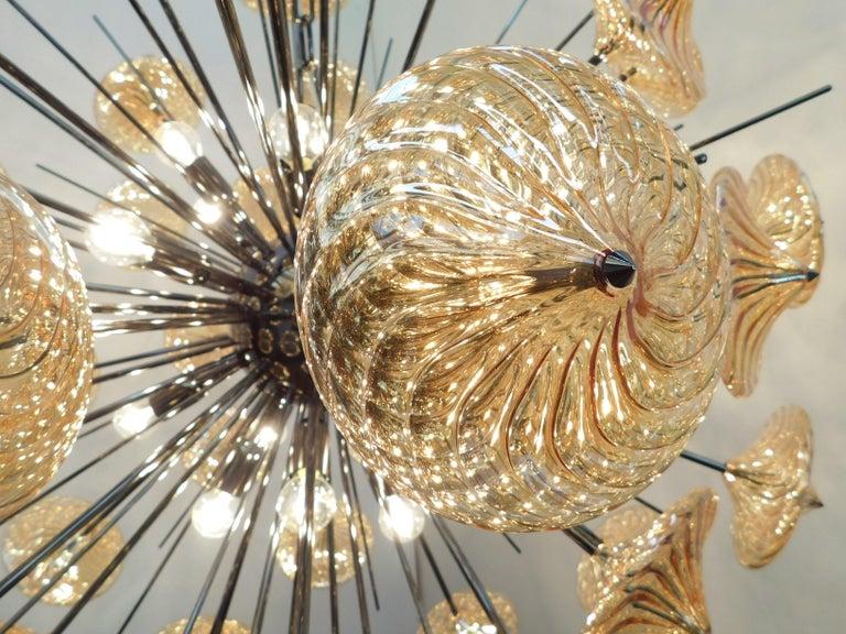 Rondella Sputnik Chandelier by Fabio Ltd In New Condition For Sale In Venice, Italy