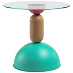 Contemporary Table, Coffe table,  Side Table and cocktail table metal and wood