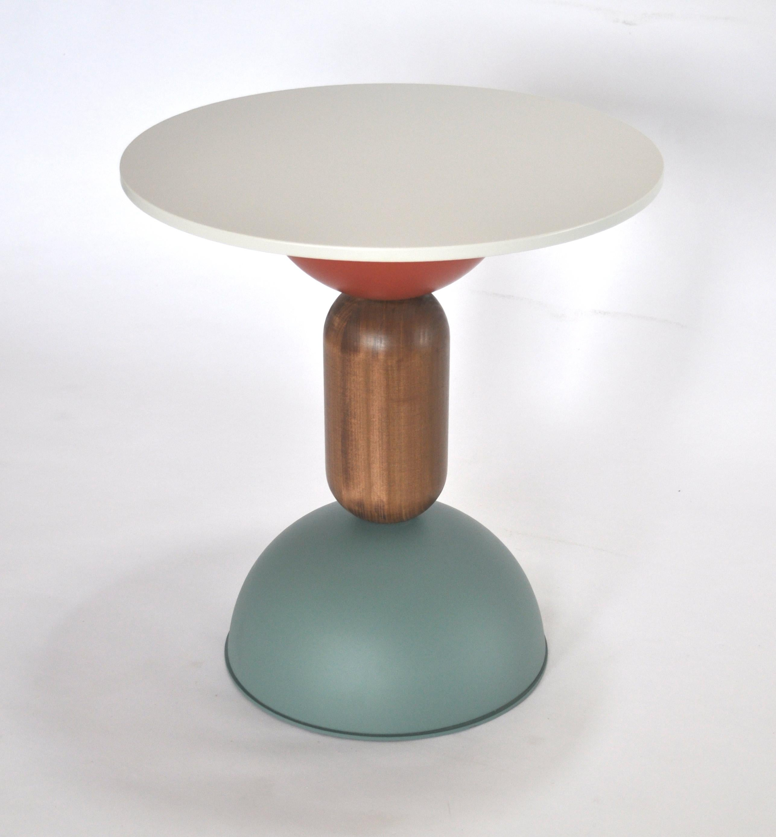Armonie D Arredo Roma contemporary table, coffe table, side table and cocktail table metal and  wood