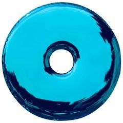 Rondo Mirror D150cm 'Deep Space Blue' in Stainless Steel by Zieta Prozessdesign