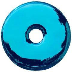 Rondo Mirror D150cm 'Deep Space Blue' in Stainless Steel by Zieta