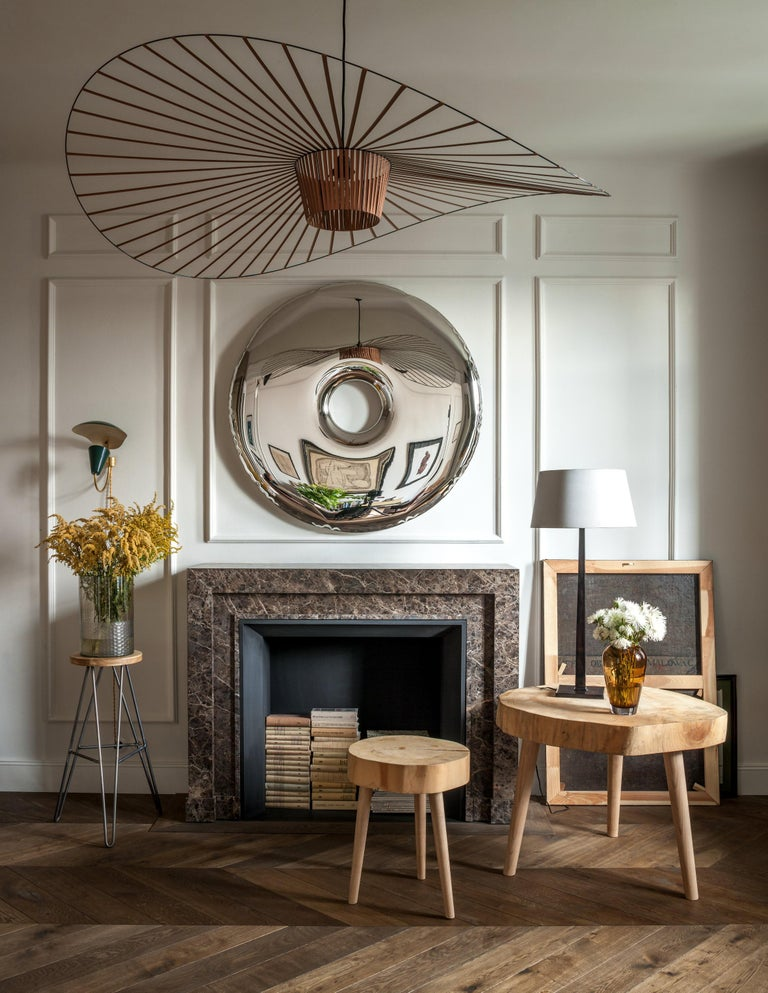 Rondo Original Decorative Wall Mirror in Stainless Steel, Zieta In New Condition For Sale In Geneve, CH