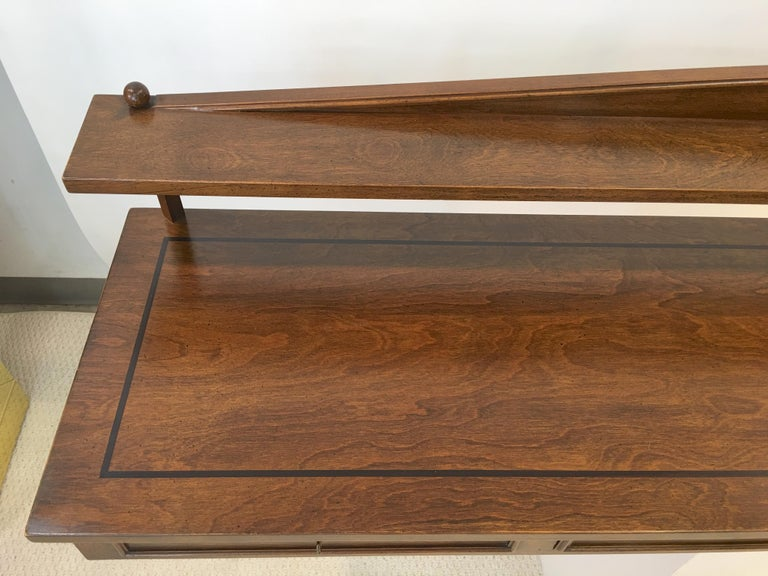 Mid-20th Century Ronnie Brahms for H. Sacks Wall Mounted Console Server For Sale