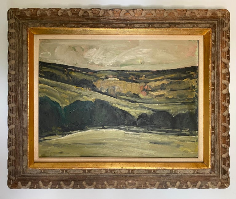 Canvas Ronnie Culter Abstract Landscape For Sale