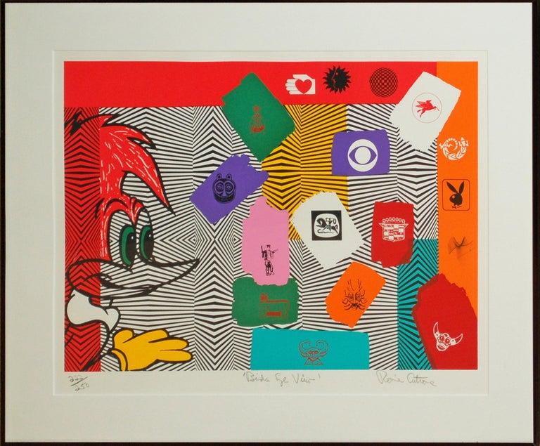 Bird's Eye View - Print by Ronnie Cutrone