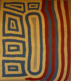 'Tingari' Australian Aboriginal Art by Ronnie Tjampitjinpa