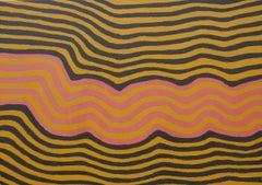 'Water Dreaming' Australian Aboriginal Art by Ronnie Tjampitjinpa