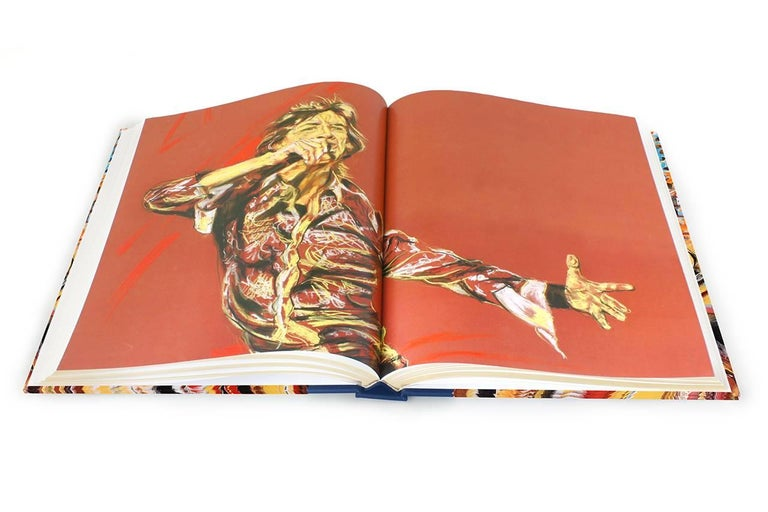 Ronnie Wood: Artist, Limited Edition Signed Book and Print Set For Sale 3