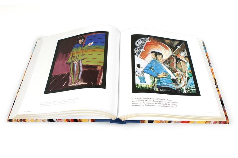 Ronnie Wood: Artist, Limited Edition Signed Book and Print Set For Sale 5