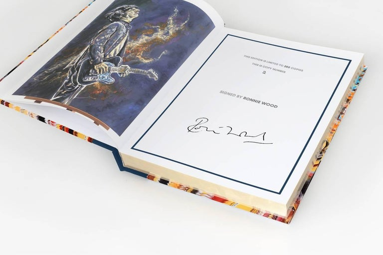 Offering unprecedented insight into the creative processes of a rock'n'roll legend, Ronnie Wood: Artist charts six decades of Ronnie Wood's art in every medium, from his first-ever commission at age ten to his latest Stones set lists.  The