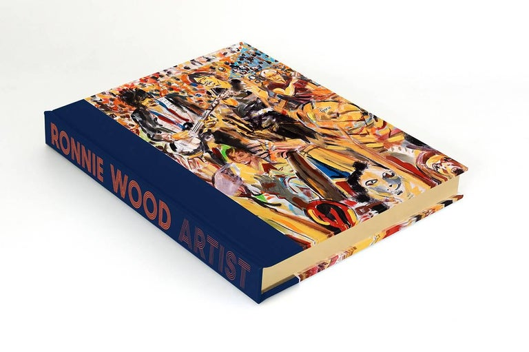 Ronnie Wood: Artist, Limited Edition Signed Book and Print Set In Excellent Condition For Sale In Guildford, Surrey