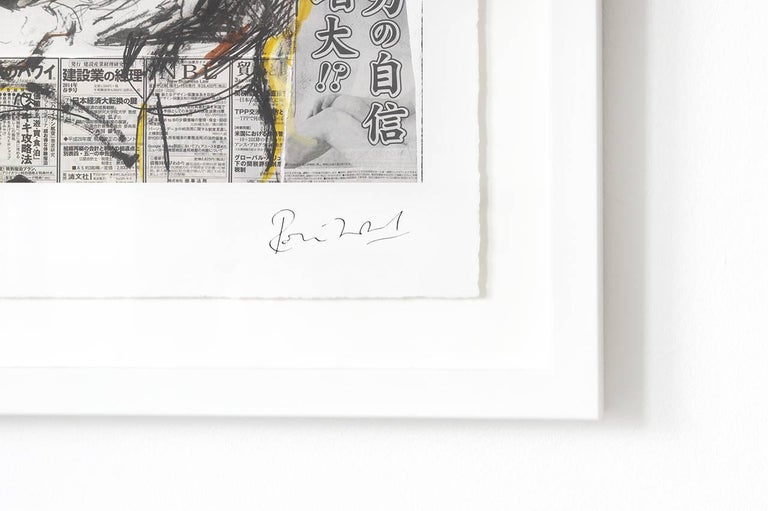 Ronnie Wood: Artist, Limited Edition Signed Book and Print Set For Sale 1