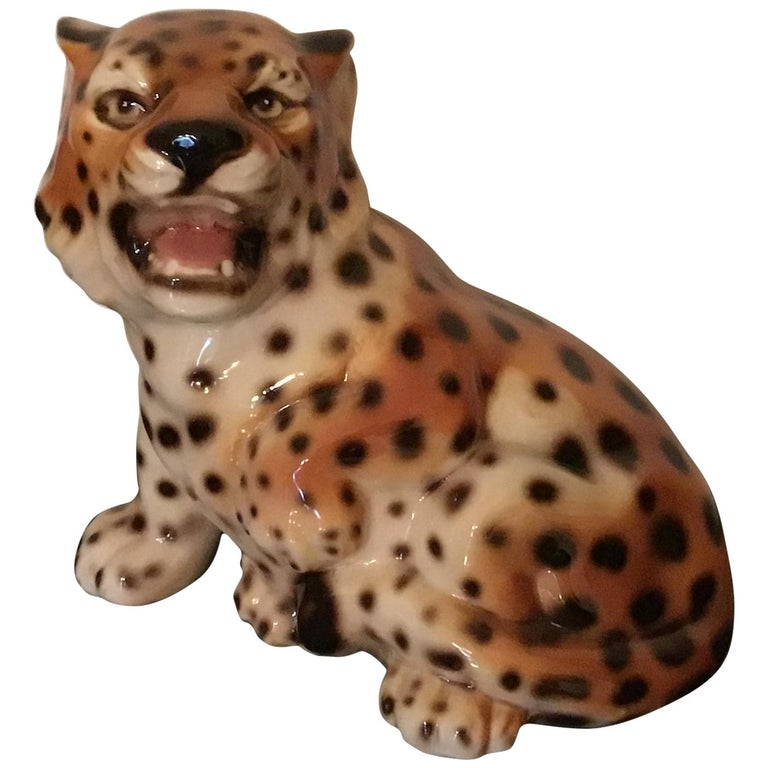 Ronzan Baby Tiger Ceramic, 1950, Italy  For Sale